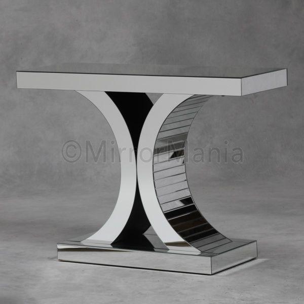 Valentino Art Deco Mirror Console Table
