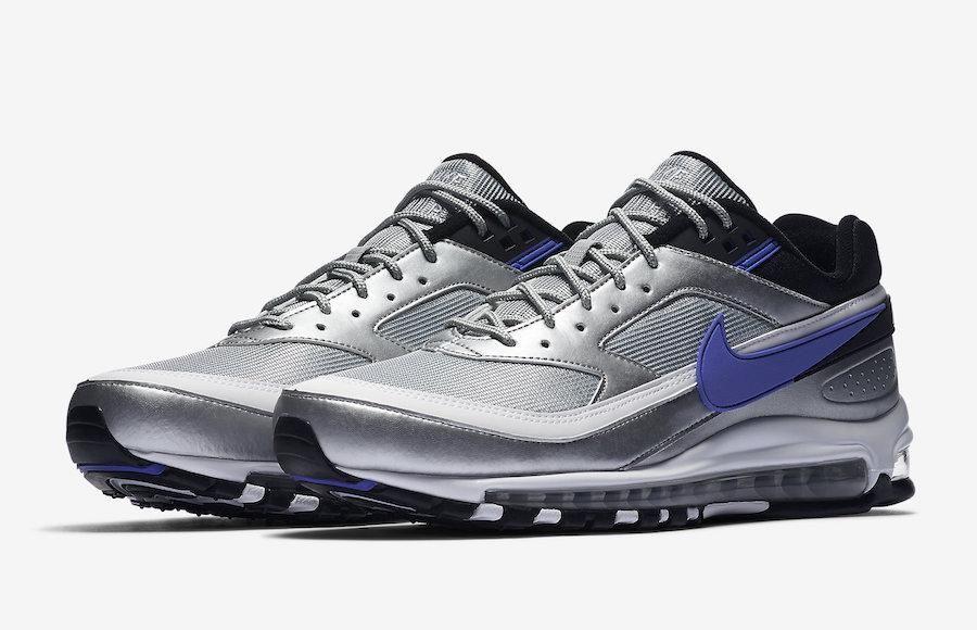 Air Max 97BW Sneaker in Metallic SilverPersian Violet