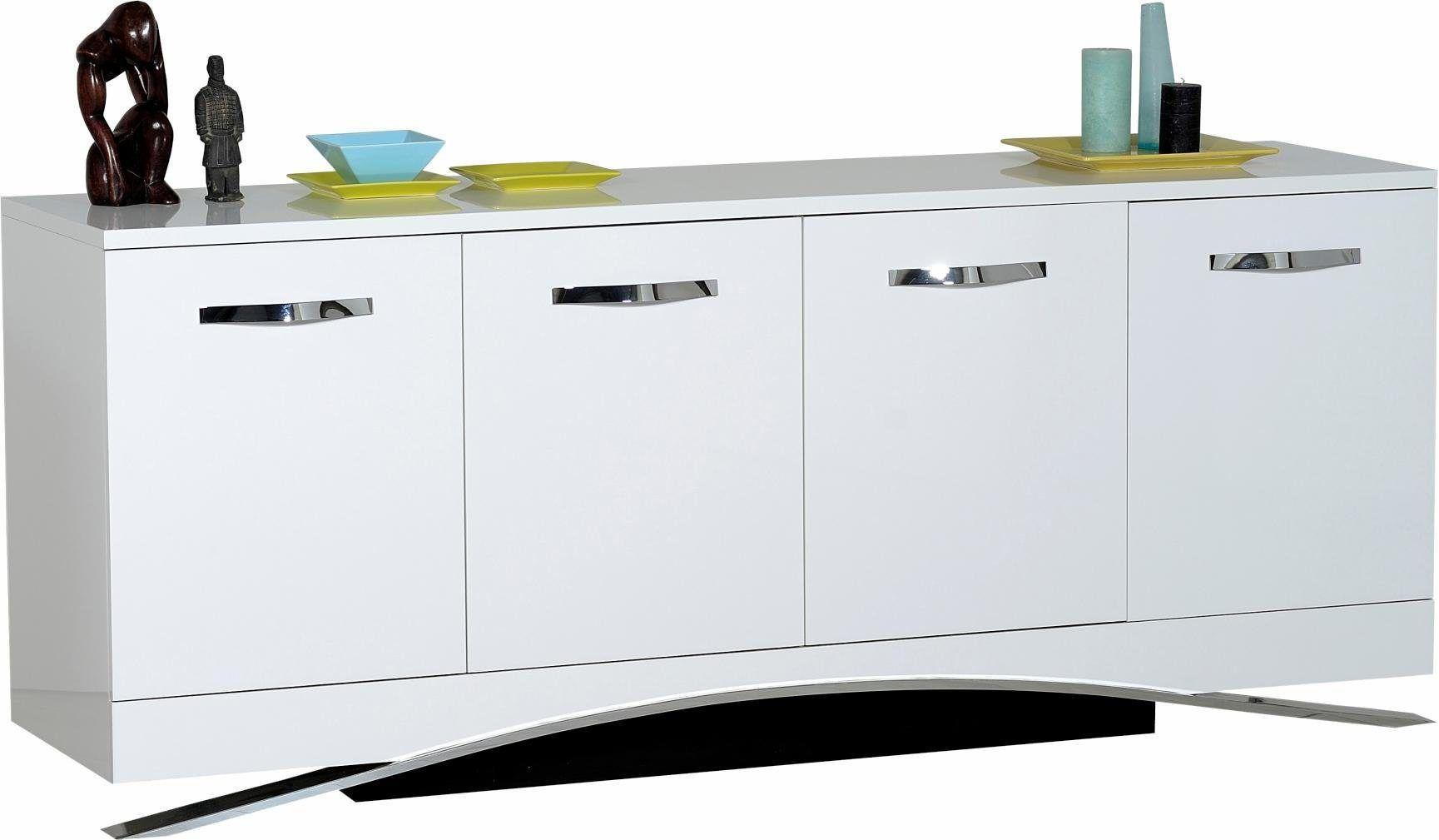 Sideboard Weiß, Hochglanz Fronten, Soft Close Funktion, FSC® Zertifiziert,  Sciae Jetzt Bestellen Unter: ...