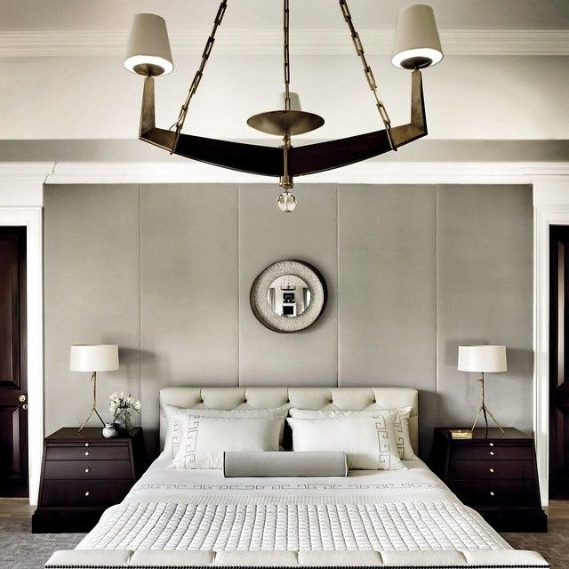 Loving this elegant bedroom by the supremely tasteful #ThomasPheasant