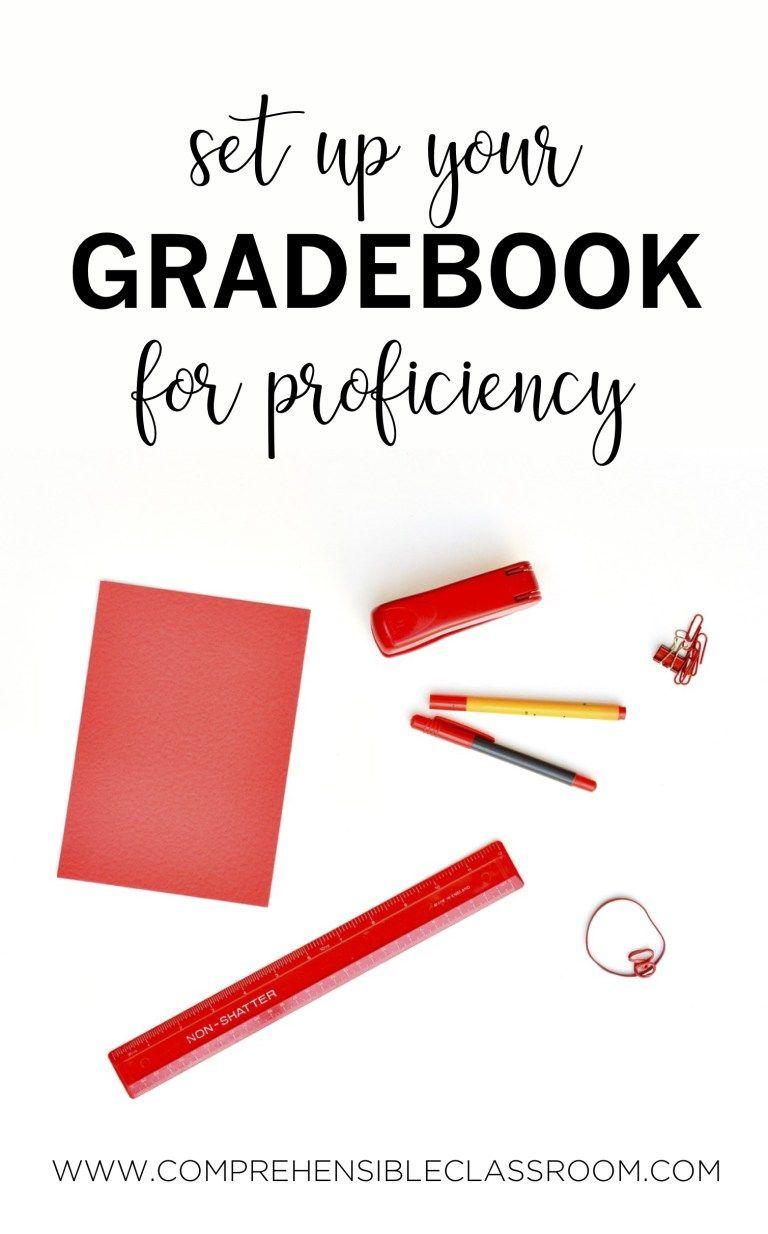 Gradebook categories the comprehensible classroom