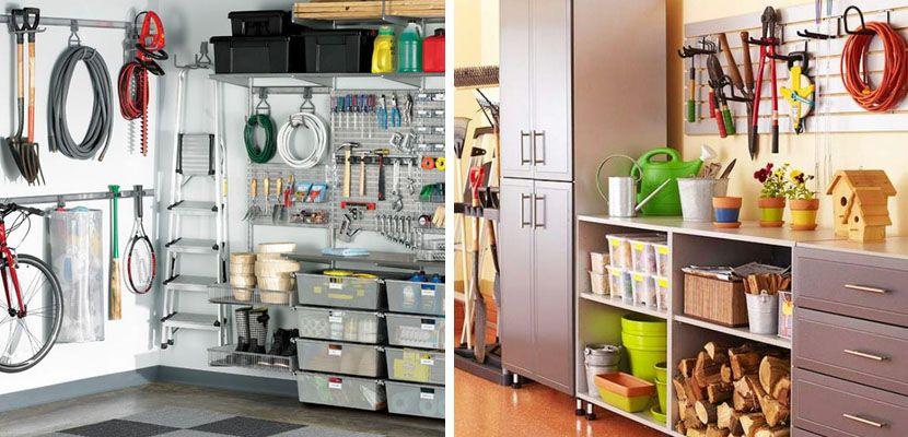 Ideas para organizar el garaje closet garaje ideas - Estanterias para garaje ...