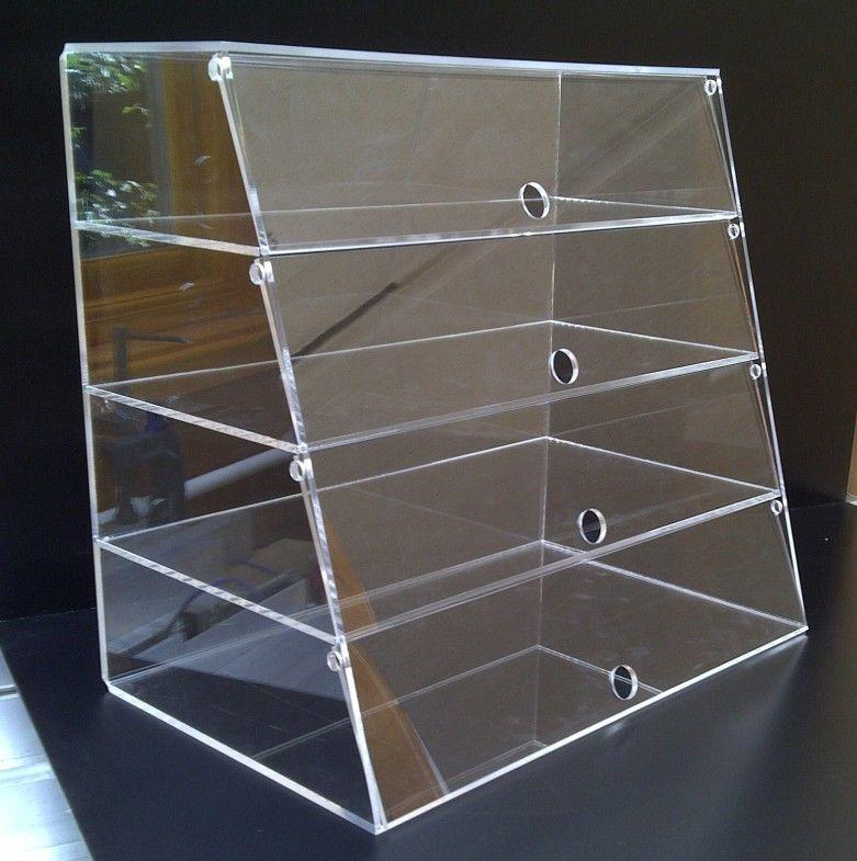 Build A Plexiglass Display Case Google Search Bakery Display