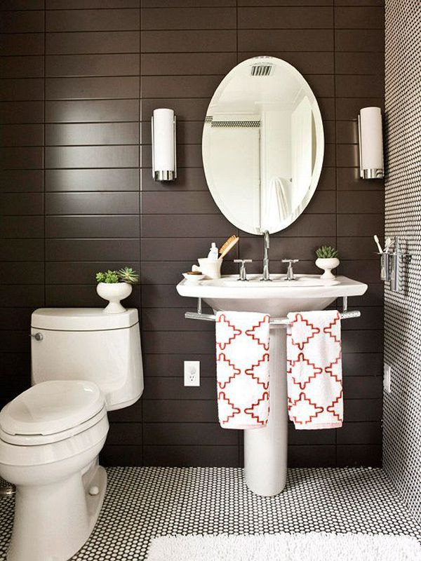 freshen your bathroom with low cost updates guest bath pinterest rh pinterest com Design Modern Bathroom for Towels Towel Basket Ideas