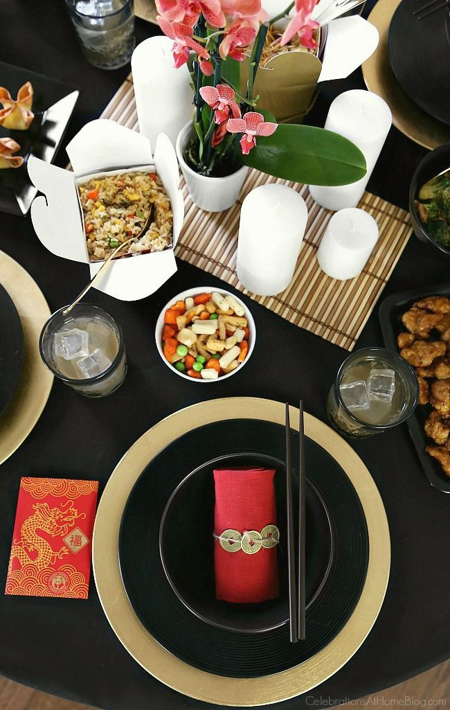 Good Chinese Dinner Party Ideas Part - 14: Celebrate Chinese New Year With A Chinese Themed Dinner Party, With  Inspiration And Ideas From