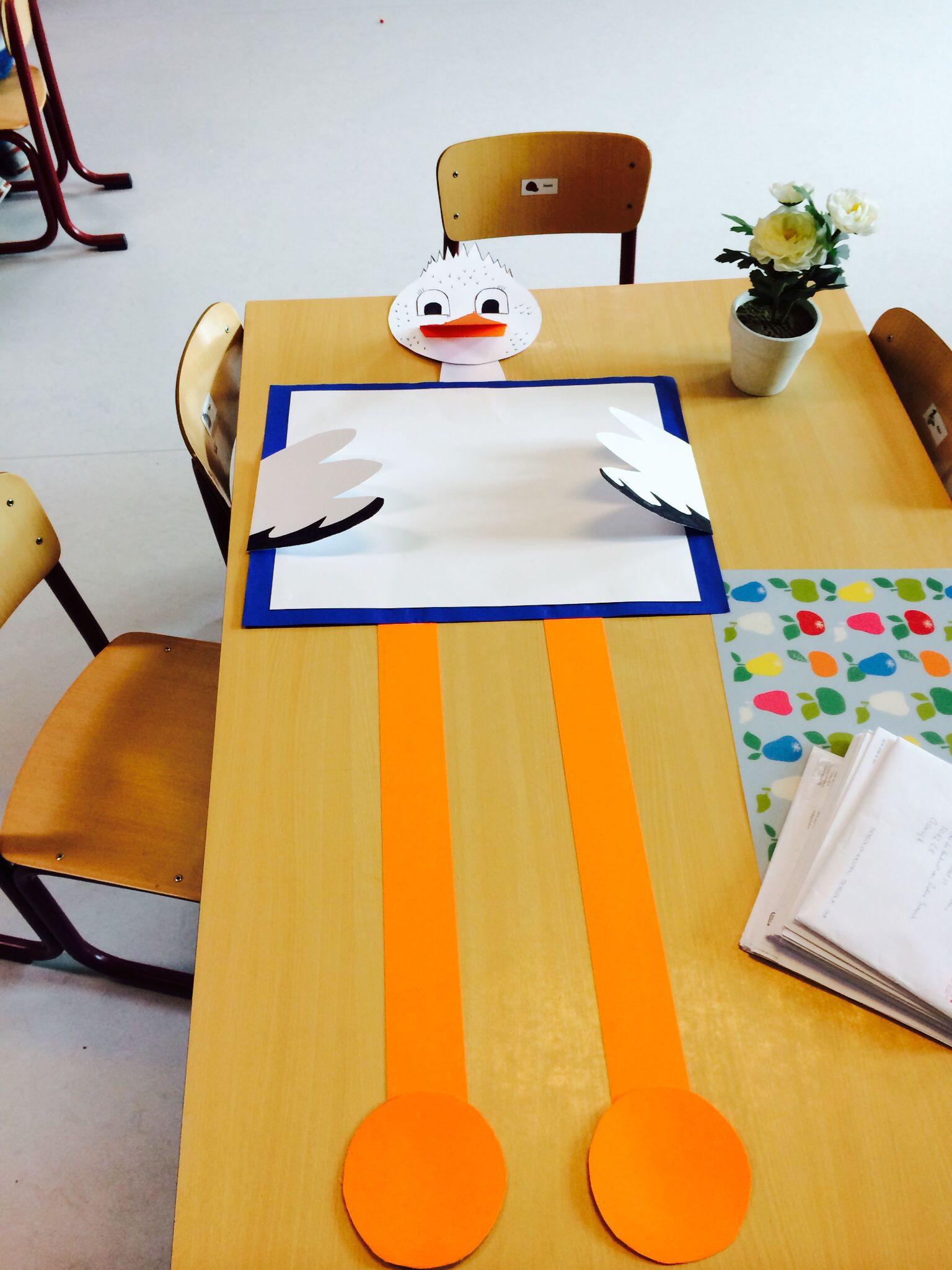 Ooievaar kraamcadeau - DIY | Pinterest - Geboorte, Zusje ...
