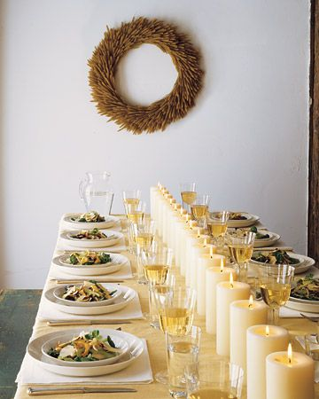Very cool tablescape! | TableScapes...Table Settings | Pinterest ...
