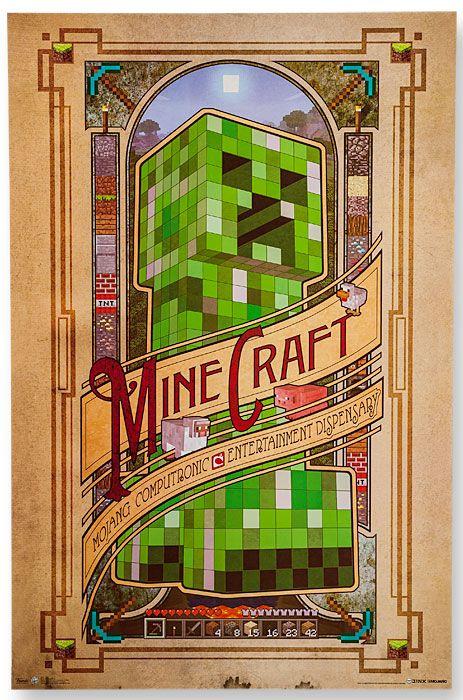 Computronic Draw Pinterest Minecraft posters