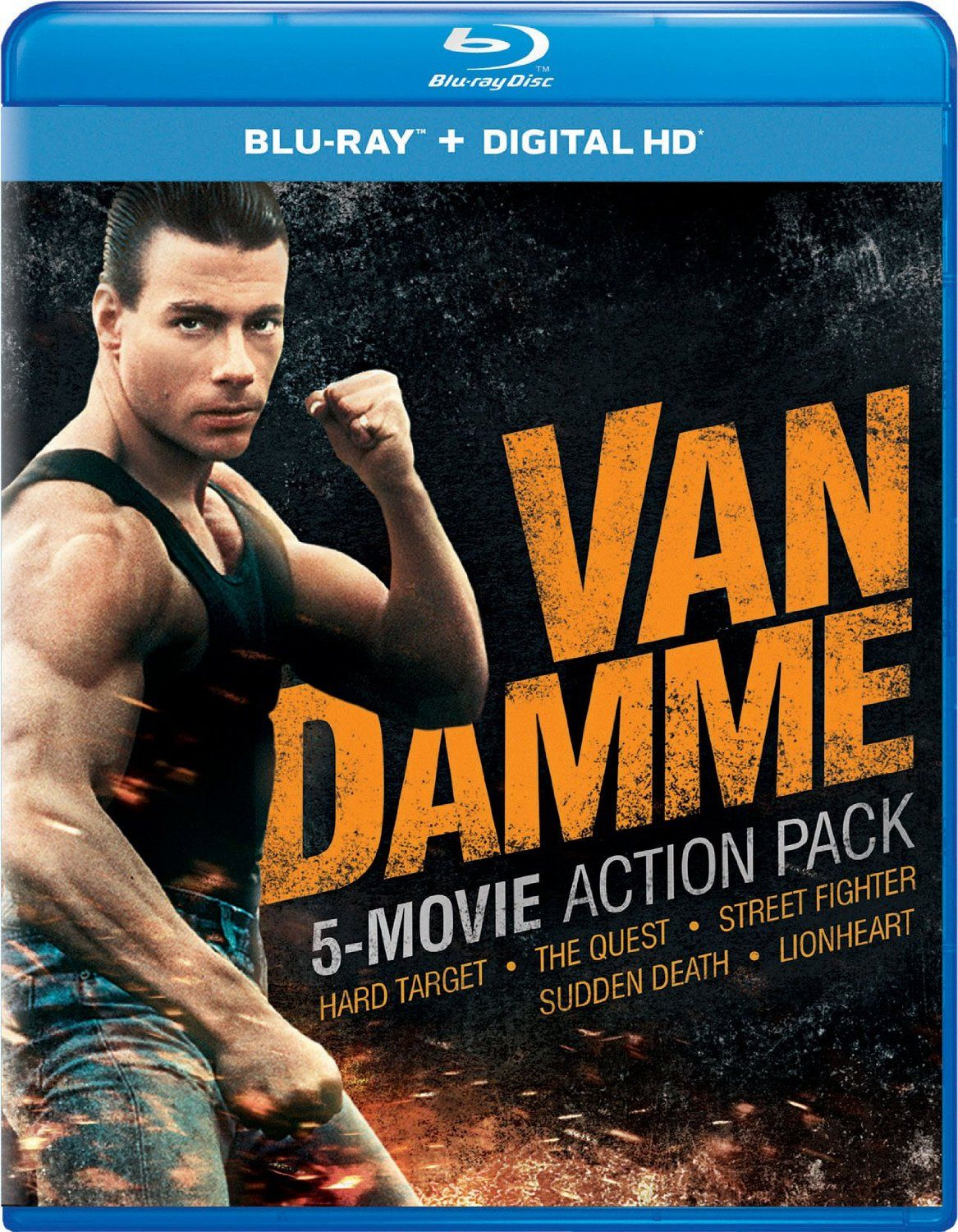 Van Damme 5 Movie Action Pack | Van damme, Blu ray movies