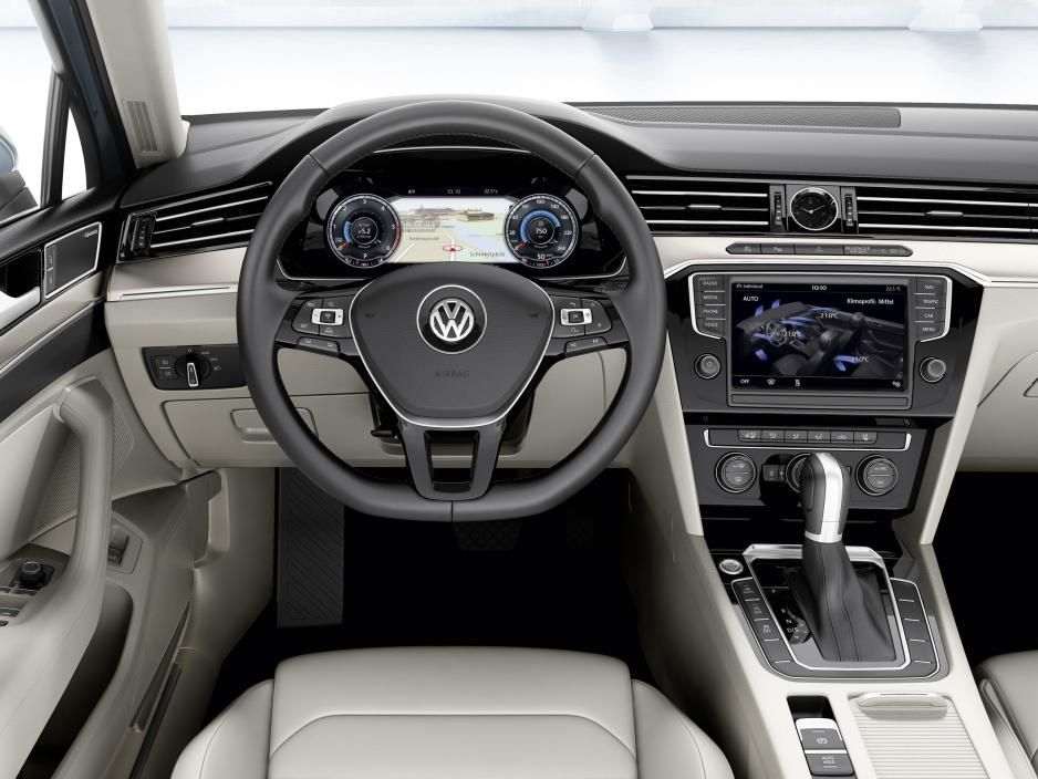 2016 Volkswagen Cc Interior View