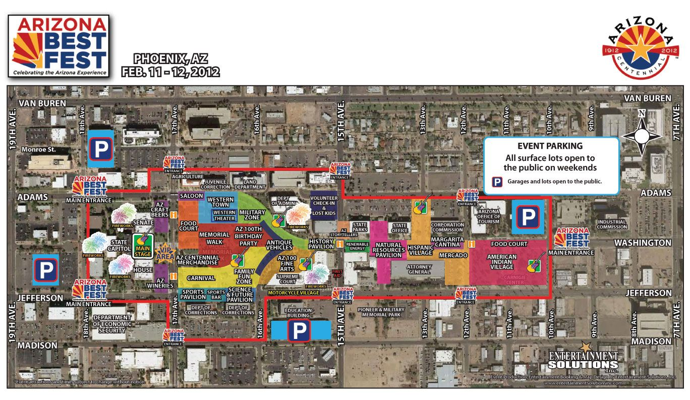 Map Of Downtown Sedona Arizona Best Fest Parking And Transportation