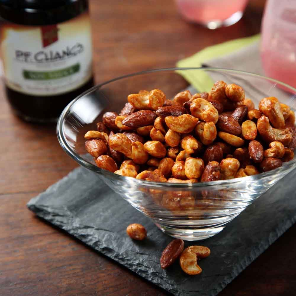 Spicy Soy-Coconut Mixed Nuts | Ready Set Eat