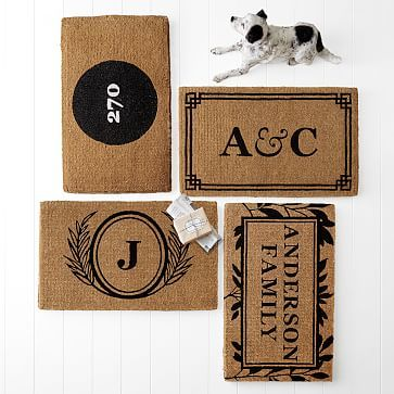 Image result for Personalized Doormat, Foliage