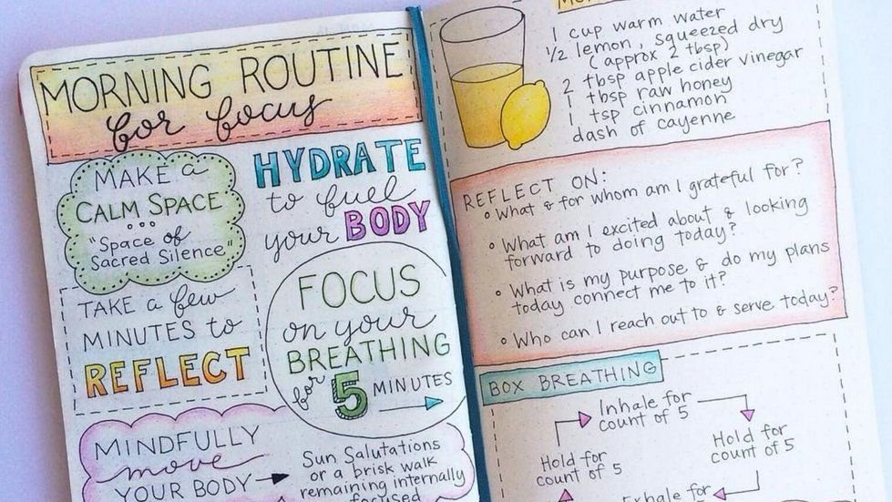 Could starting a Bullet Journal® ease your anxiety? #bulletjournal #bujo #bulletjournaling