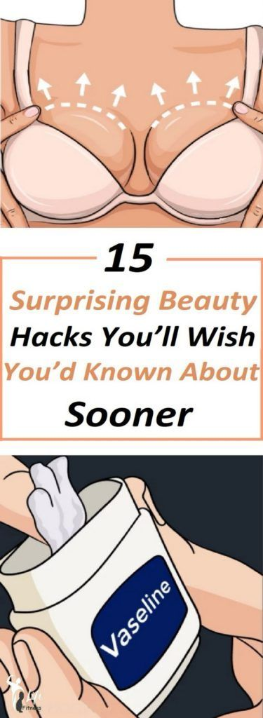 15 Surprising Beauty Hacks You'll Wish You'd Known About Sooner  #beautysecrets