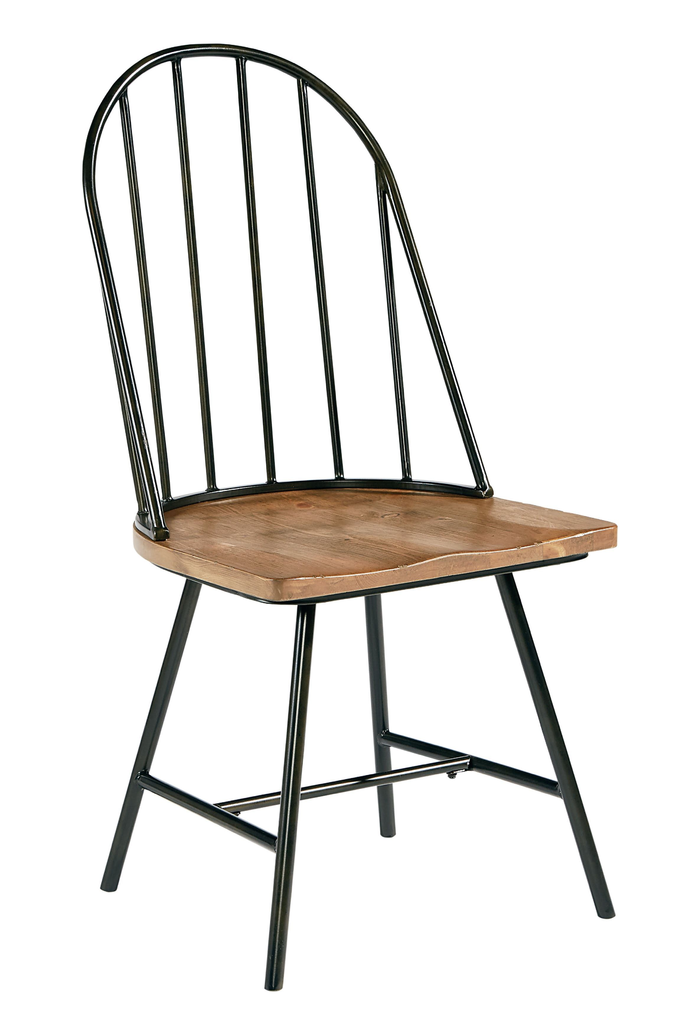 Magnolia Home Windsor Metal and Wood Hoop Chair ST