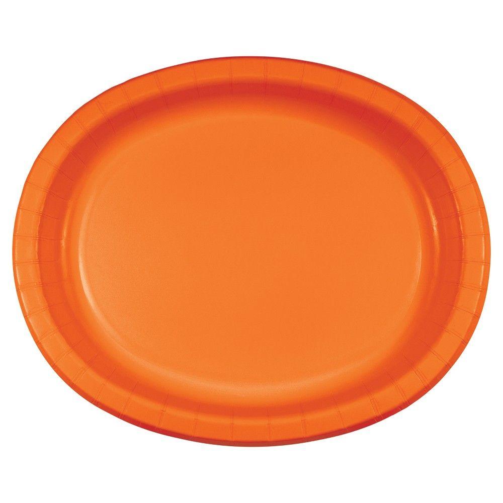 Bulk Pink Oval Platters 96ct