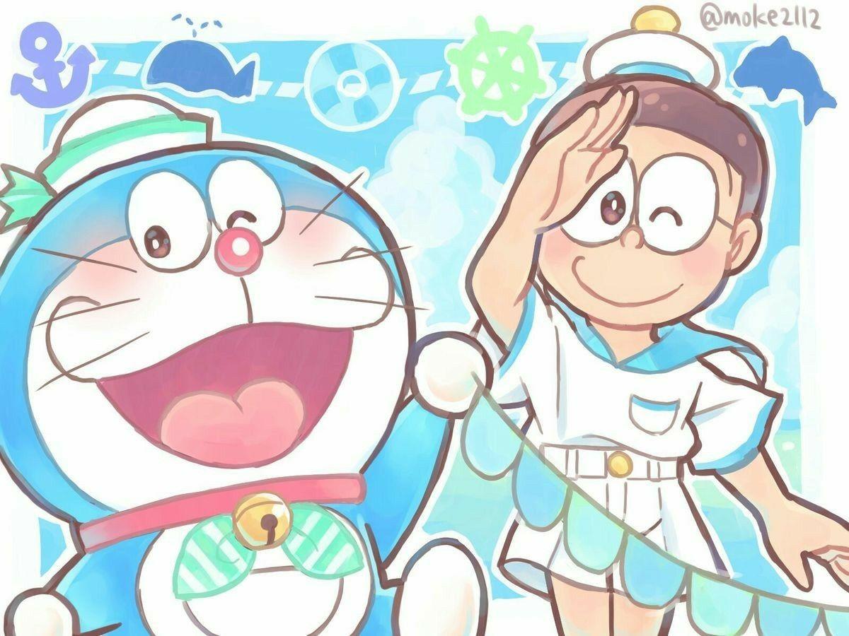 Ghim của Yiennie art trên Doraemon trong 2020 Anime