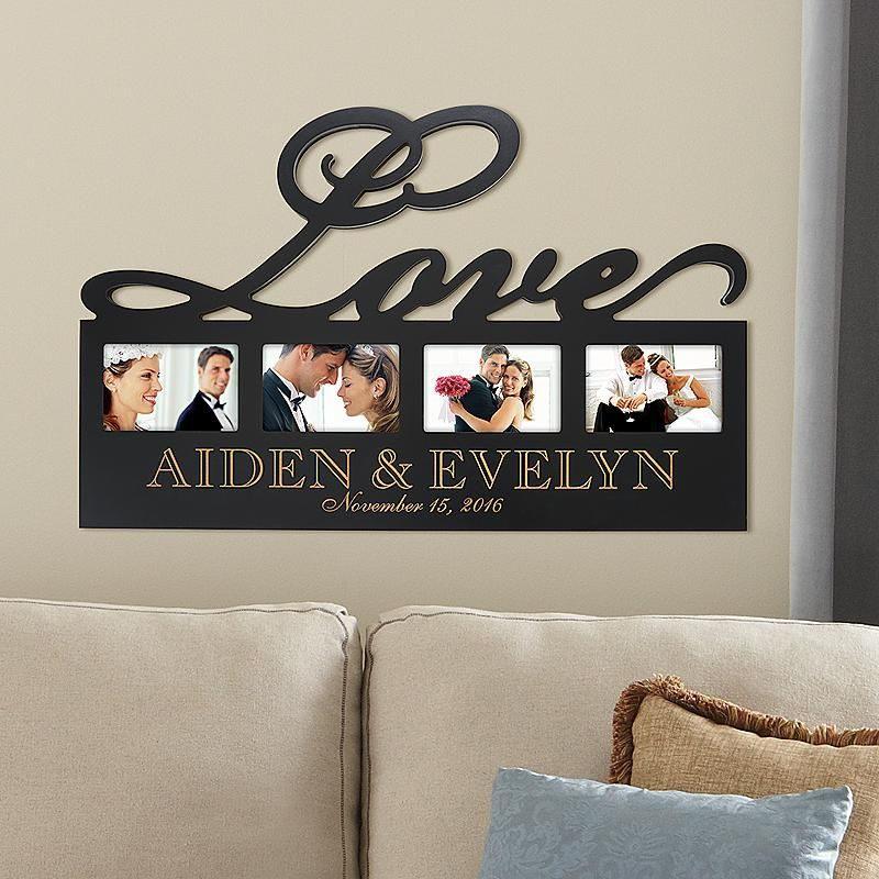Engagement And Wedding Gifts Gifts Com Personalized Bridal Shower Gifts Personal Creations Love Frames