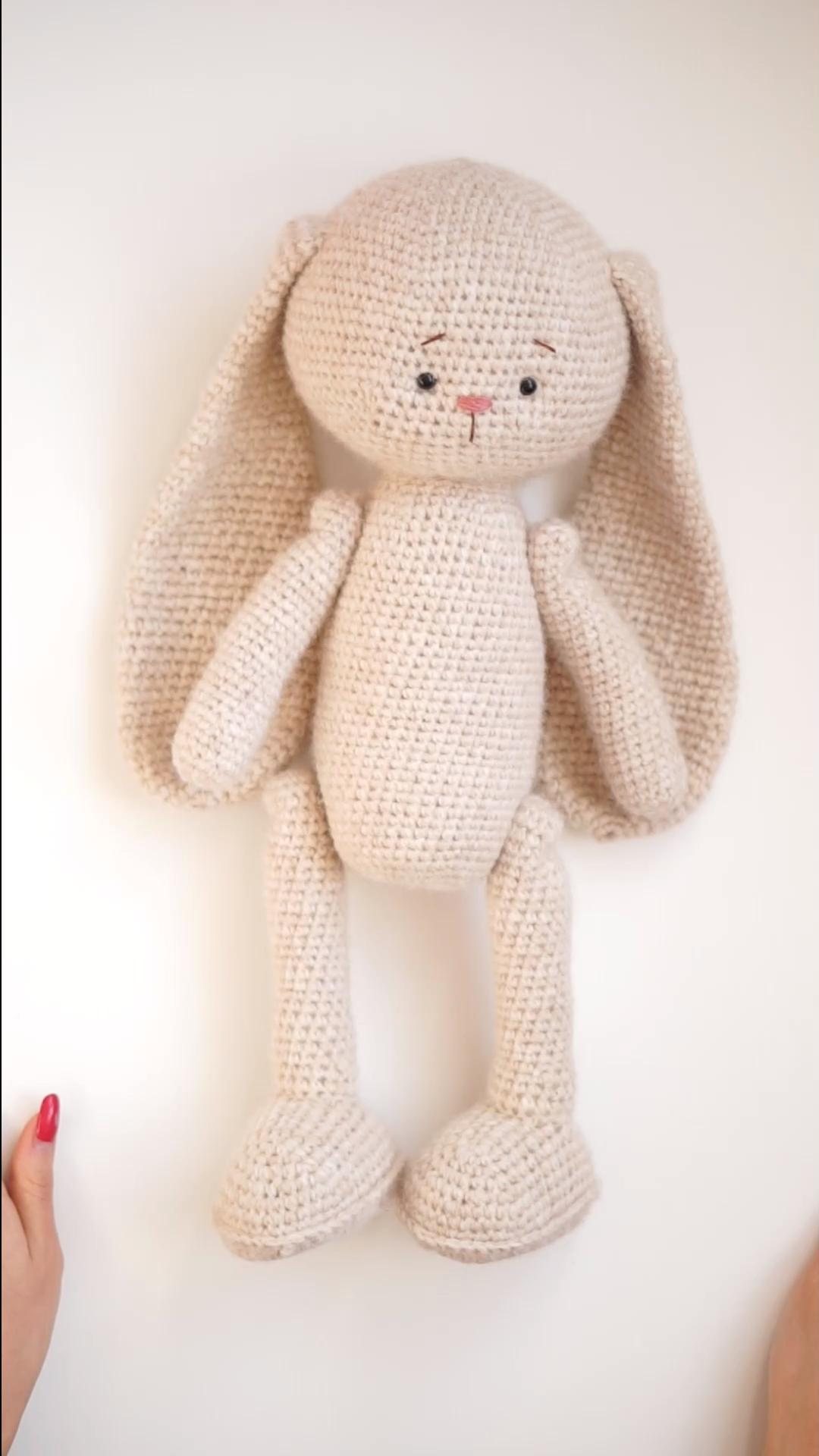 BestSeller - Crochet Bunny Pattern by PolushkaBunny