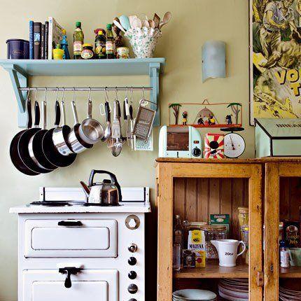 Cuisine Vintage : + De 15 Idées Déco Pour Lui Donner Un Style Récup