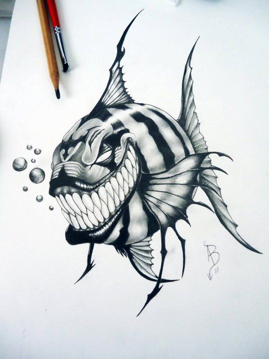 deviantART: More Like alan barbosa tattoo skull by ...
