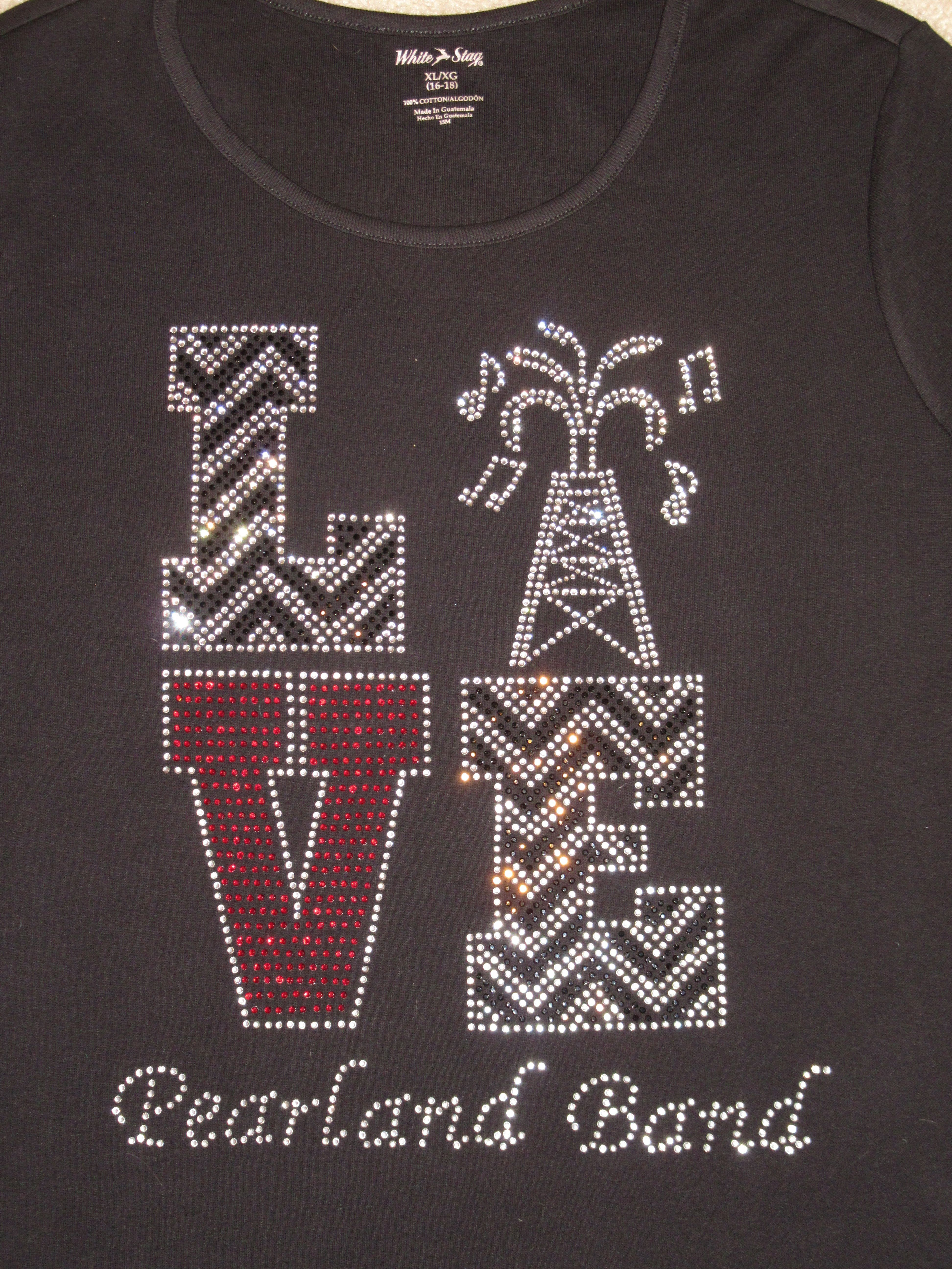 Custom Love Design For Pearland High School Oilers Marching Band