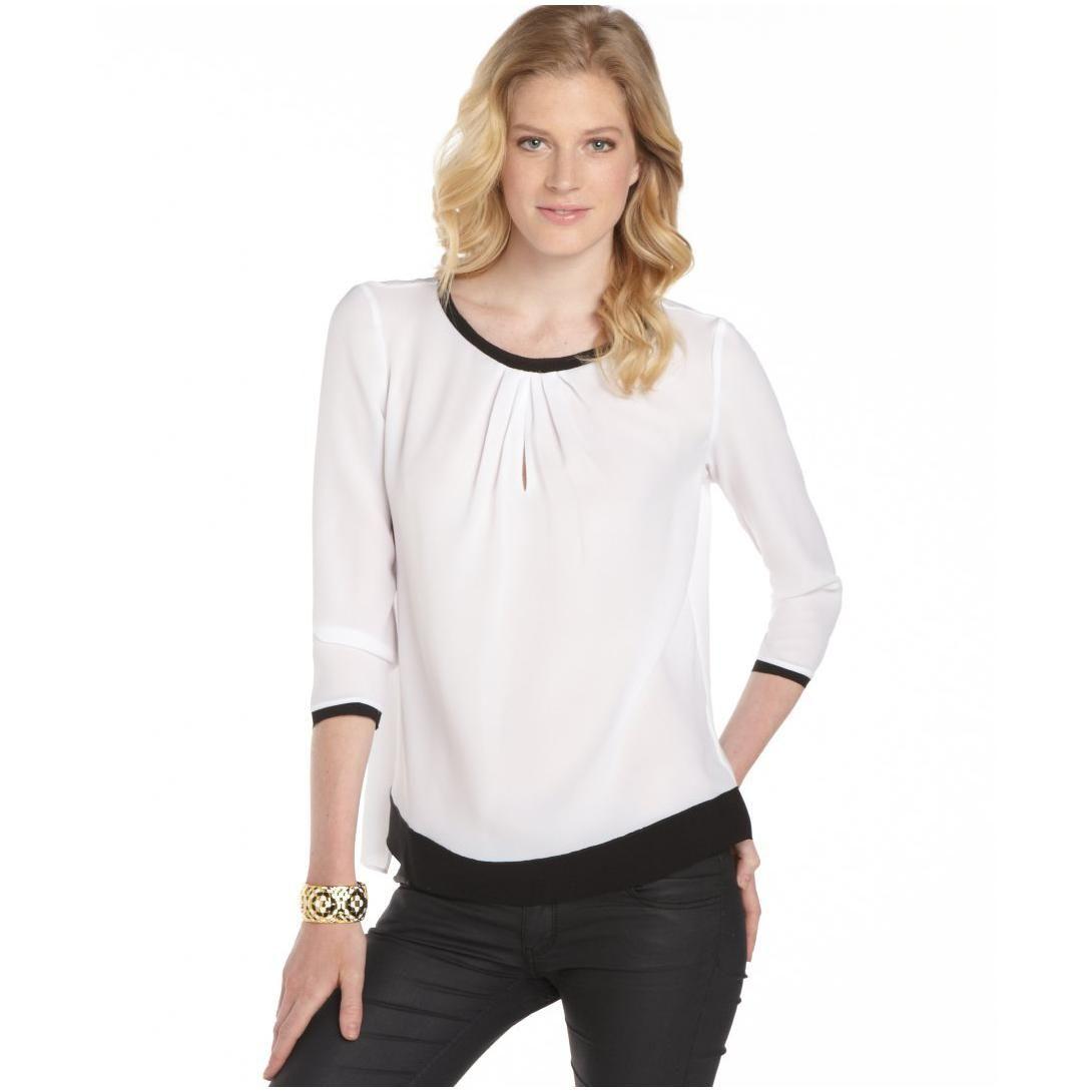 Perfect White Blouses for Women : White Blouses For Women 1 ...