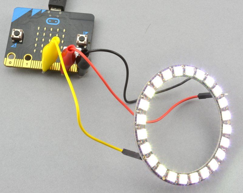 Overview | micro:bit Lesson 3  NeoPixels with micro:bit