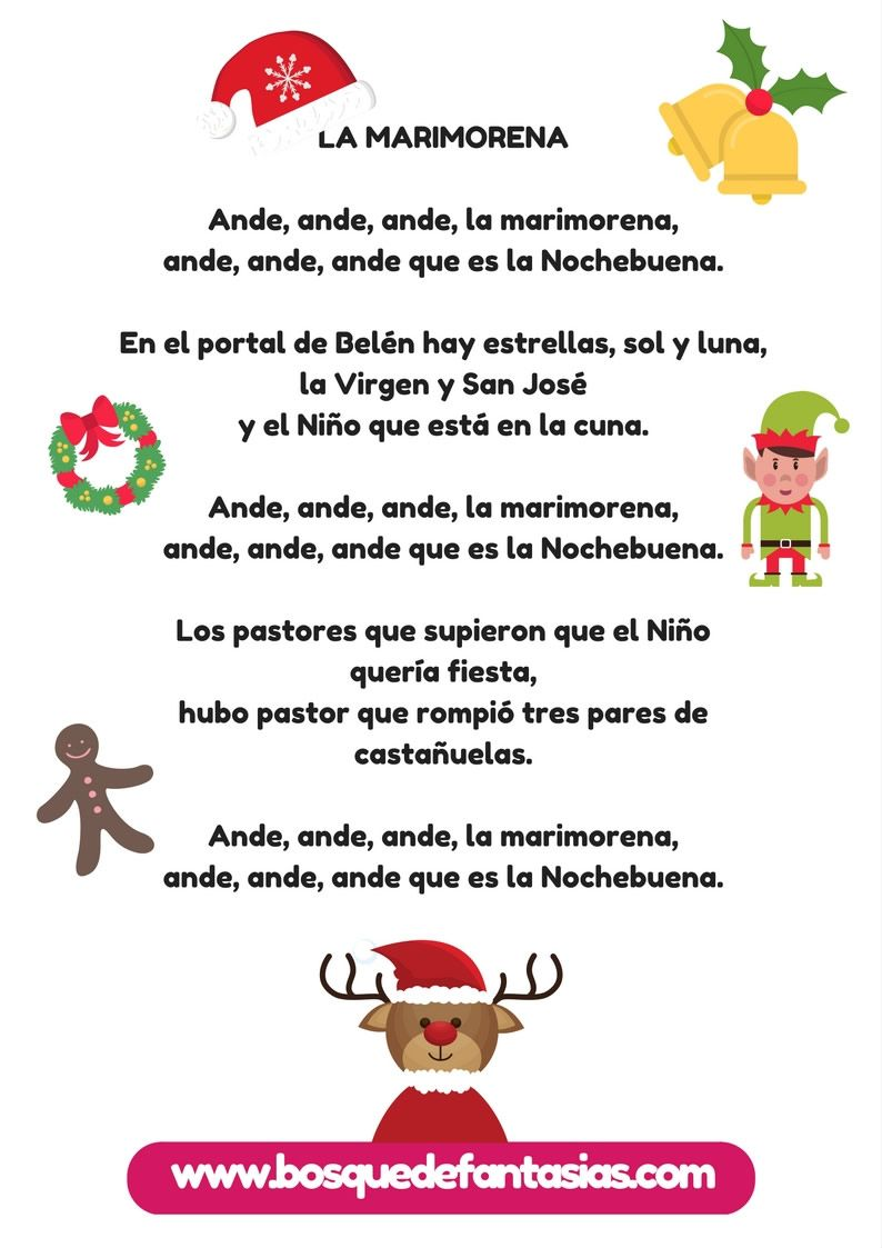 Cuaderno De Villancicos Y Canciones De Navidad Para Niños Cancion De Navidad Cantos Navideños Cancionero Navideño