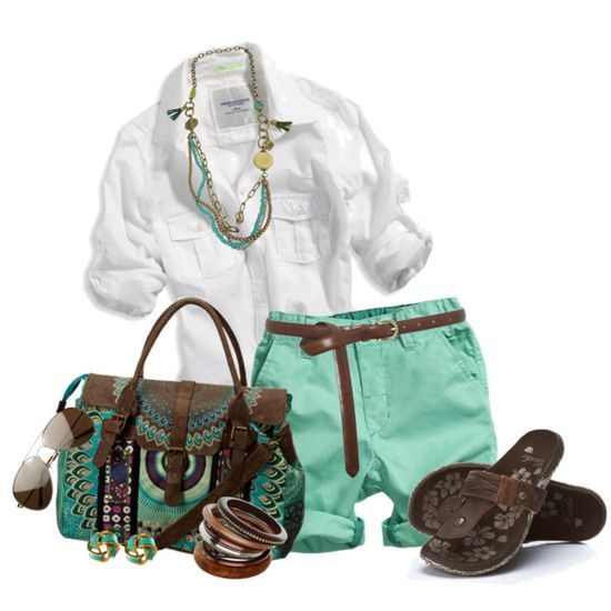 Summer Outfit/ finally an outfit that matches my Anushka purse