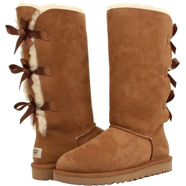 bc5d15eba17 UGG Bailey Bow Tall Women's Boots ($250) ❤ liked on Polyvore ...