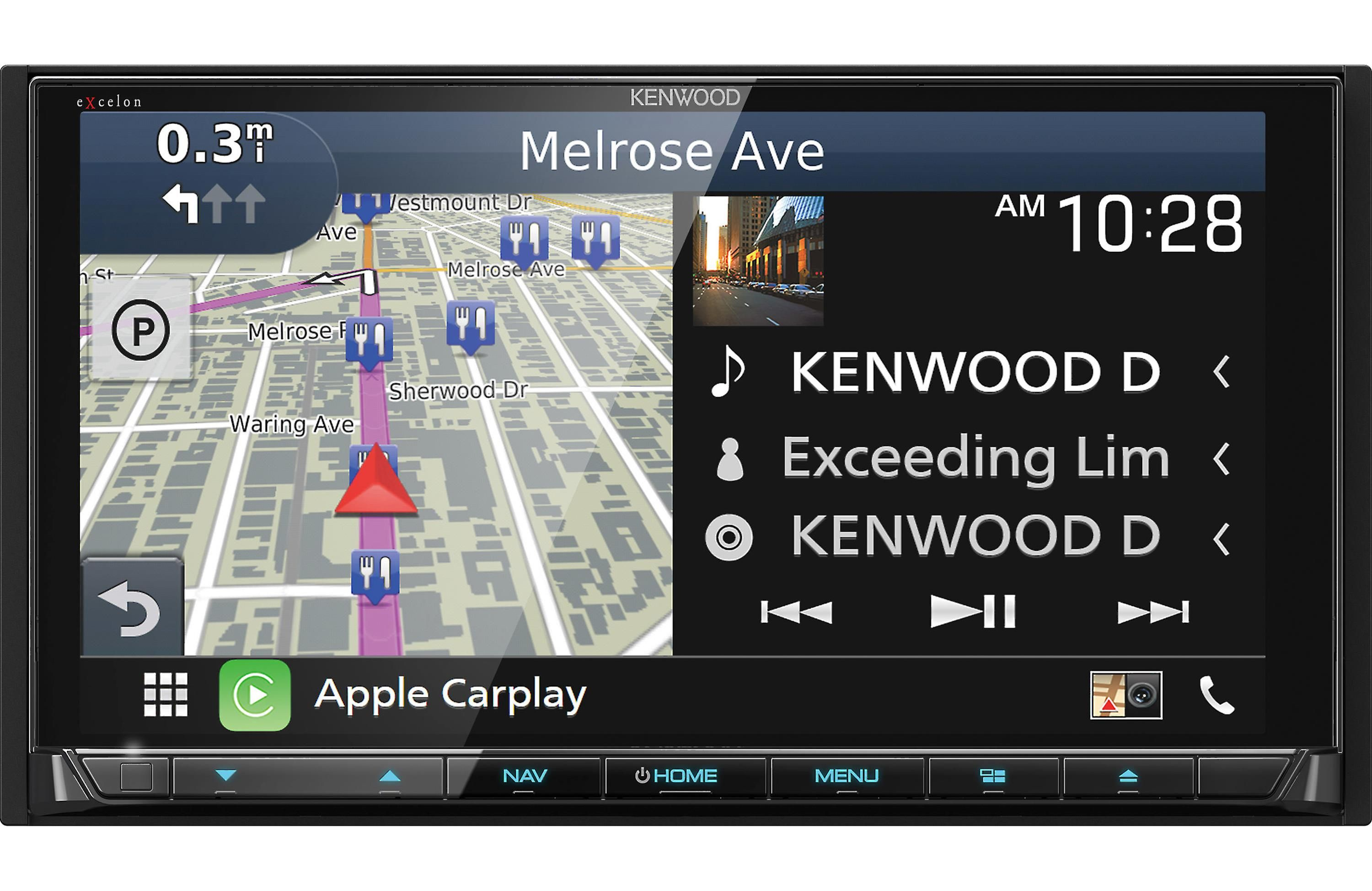 Kenwood's brand new eXcelon DNX995S navigation receiver is