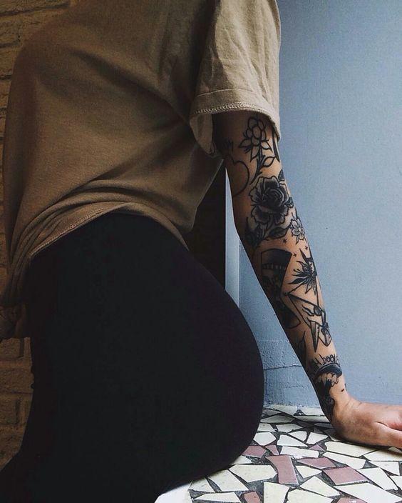 52 EYE-CATCHING CREATIVE TATTOO IDEAS FOR HER – Page 14 of 52 – Breyi – tattooing; Creative tattoo; Meaning tattoo; Friend tattos; Animal …