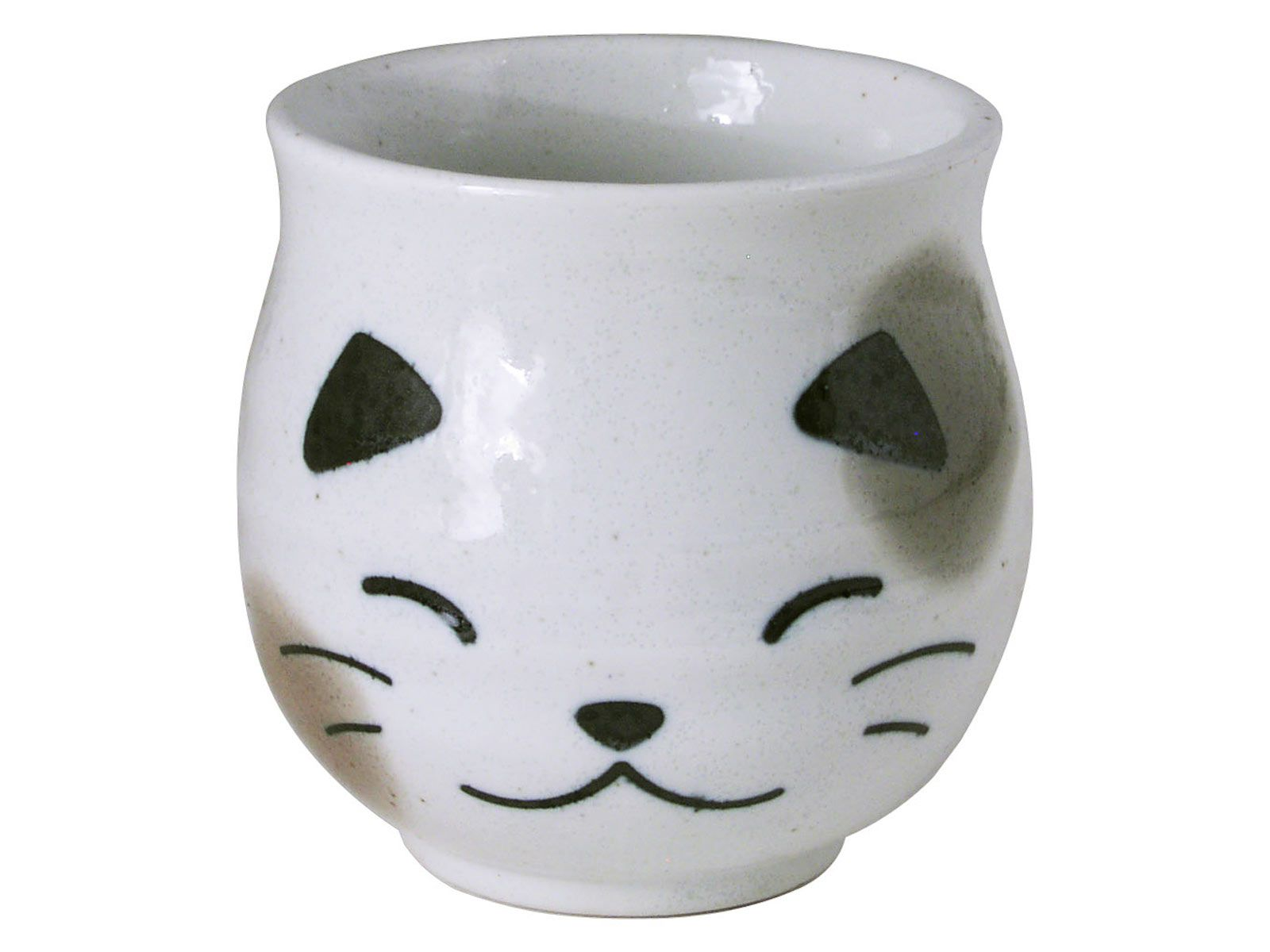 Black And White Japanese Cat Japanese Tea Cup Teacup Cats
