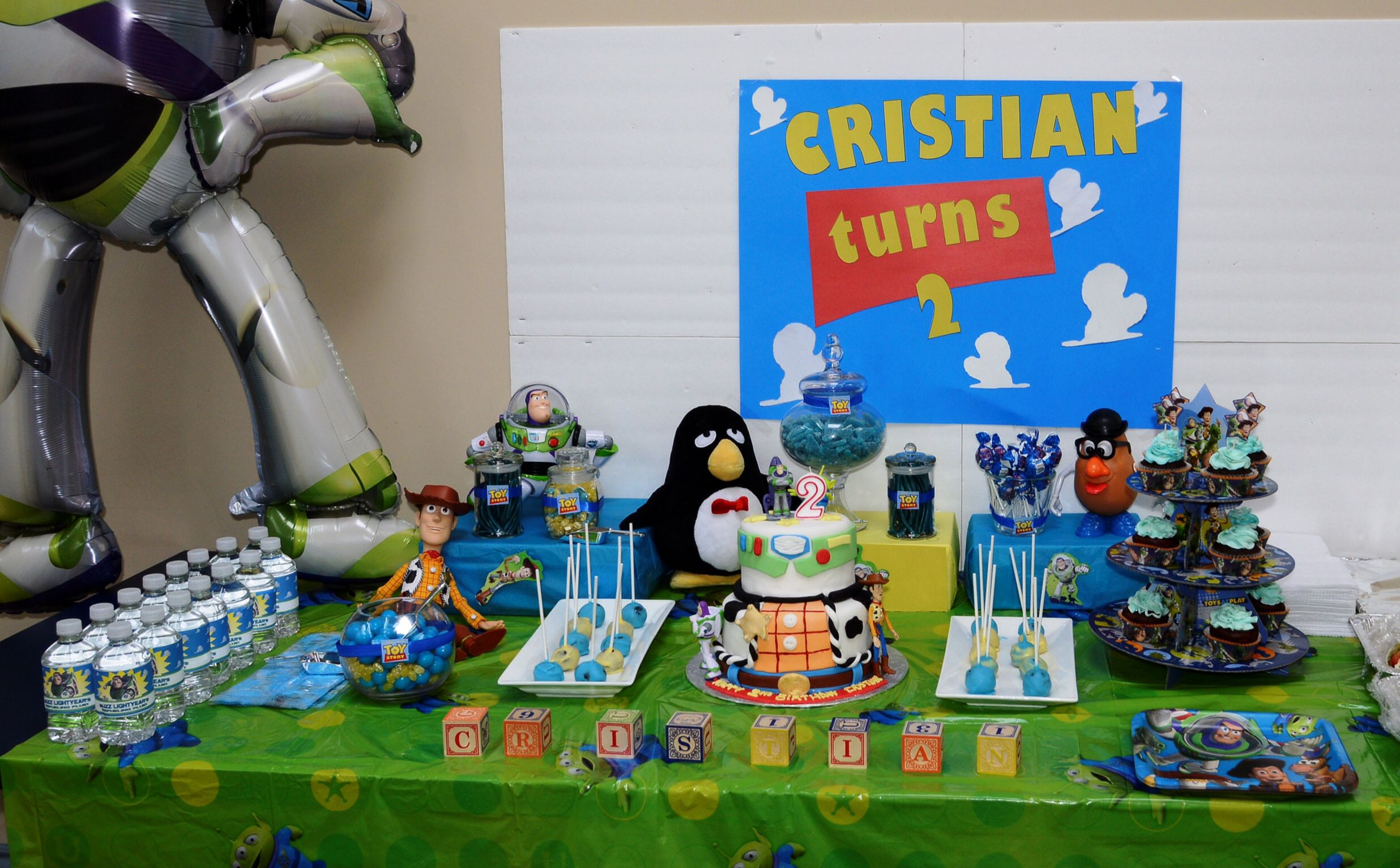 Games To Play At Toy Story Birthday Party : Kara s party ideas toy story themed birthday party kara s party