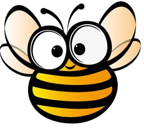 Dessin d 39 abeille abeja dibujo drawing bee infantil - Dessin de ruche d abeille ...