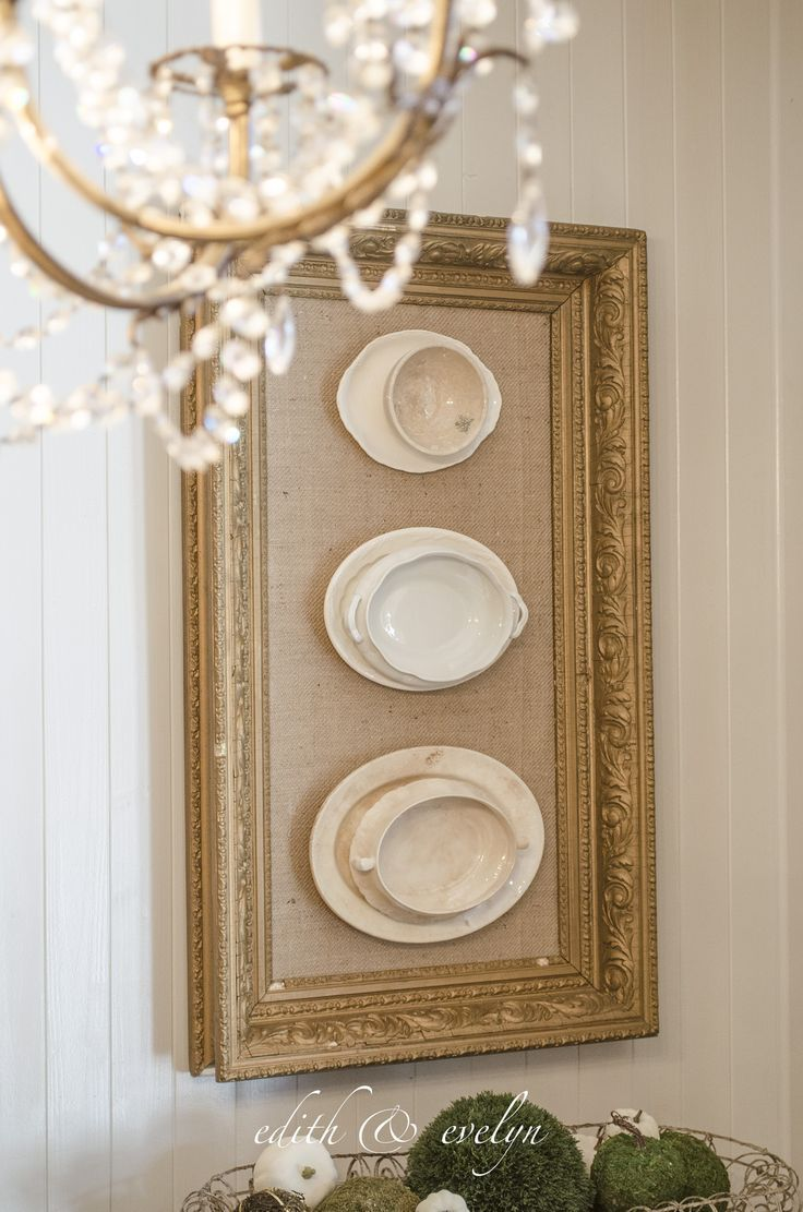Framed Ironstone | Vintage French Glam | Edith & Evelyn
