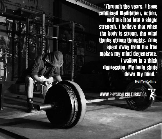 Weight Lifting Quotes Weight Lifting Quotes Henry Rollins  Google Search  Powerlifting .