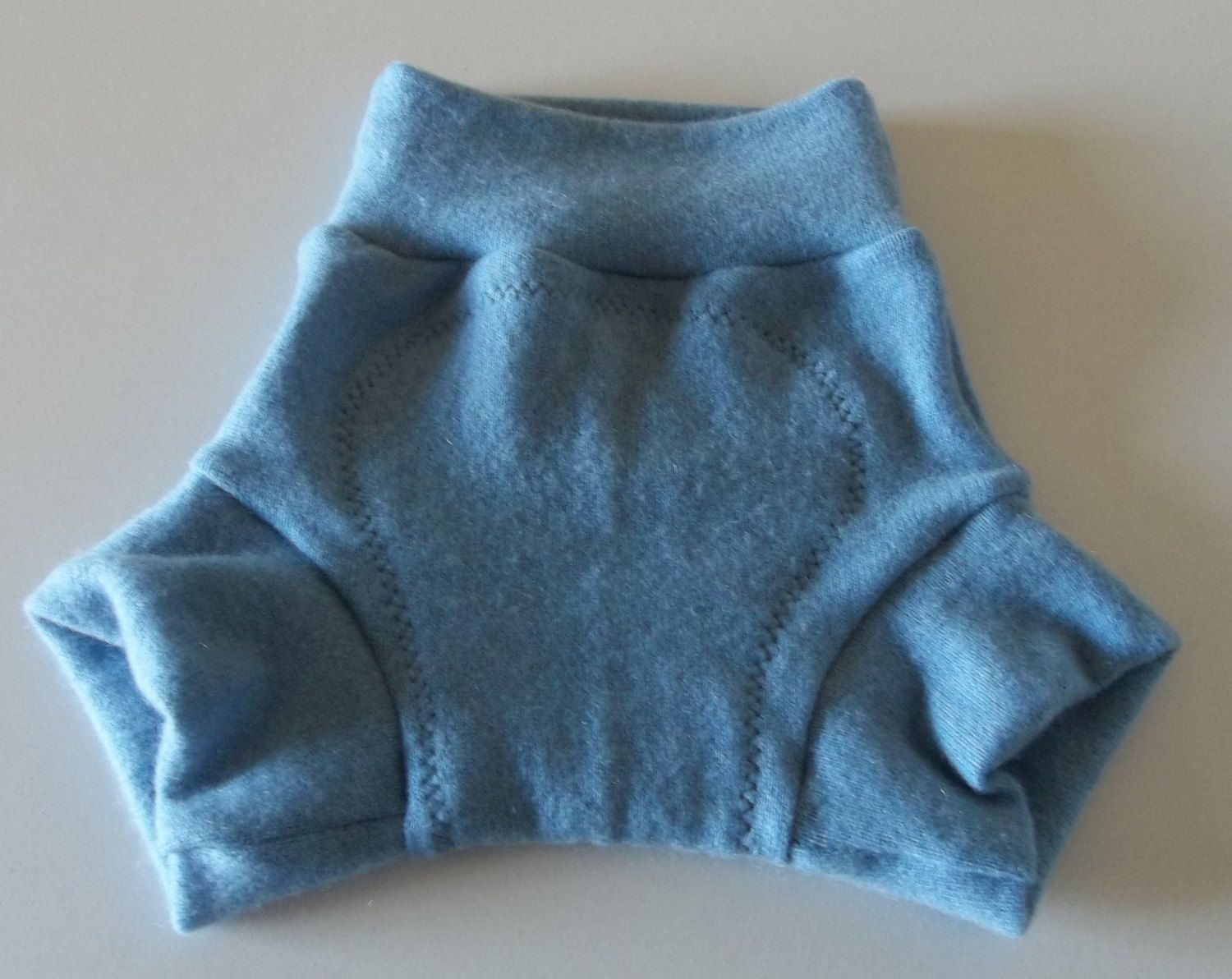 MEDIUM 100% Wool Cloth Diaper Cover, Upcycled Wool Soaker ...