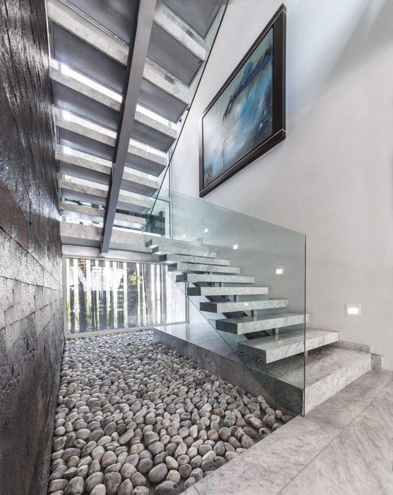 Escalier design moderne- 79 idées en bois, béton, métal ou verre ...