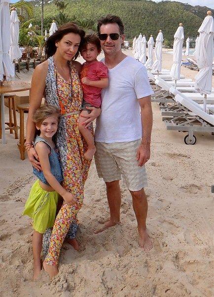 Jeff Gordon Family Gallery Jeffgordon Family Vacation In St Barts
