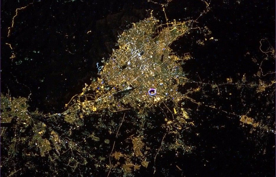 Tehran, Iran, from Space
