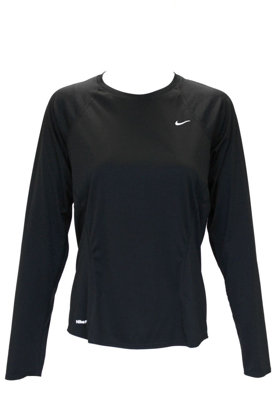 Nike Womens Pro Fitted Crew Long Sleeve