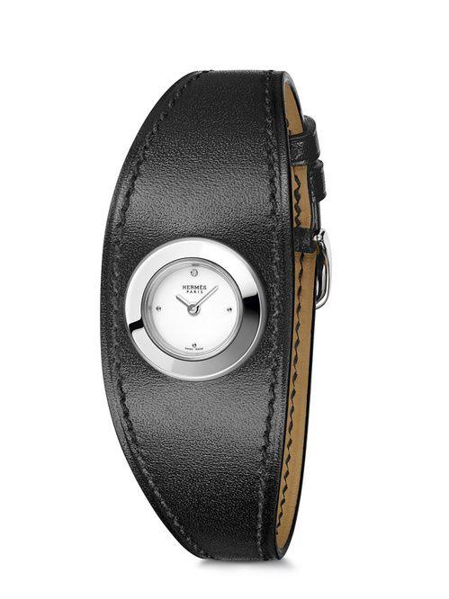 le dernier chercher achat original La montre Faubourg Manchette d'Hermès