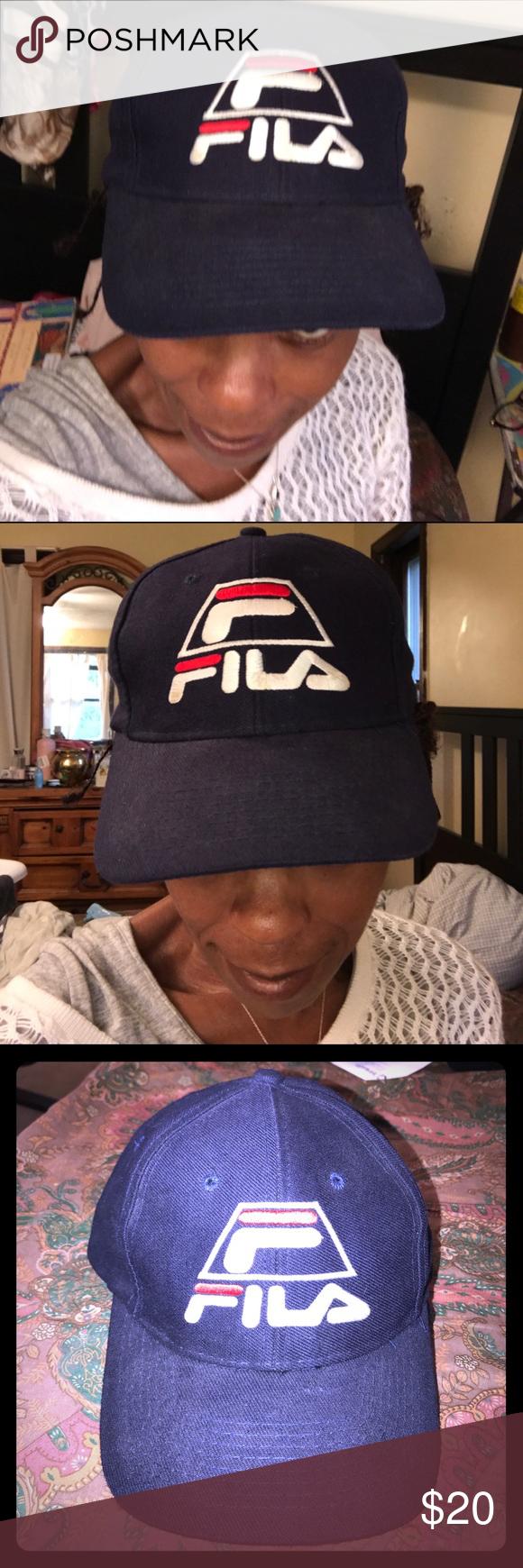dc1ca2e7 Vintage Fila SnapBack is size Grant Hill #33 Hat Fila #33 90's Grant Hill  hat one size adjustable. Fila label inside. Stitched logo outside.