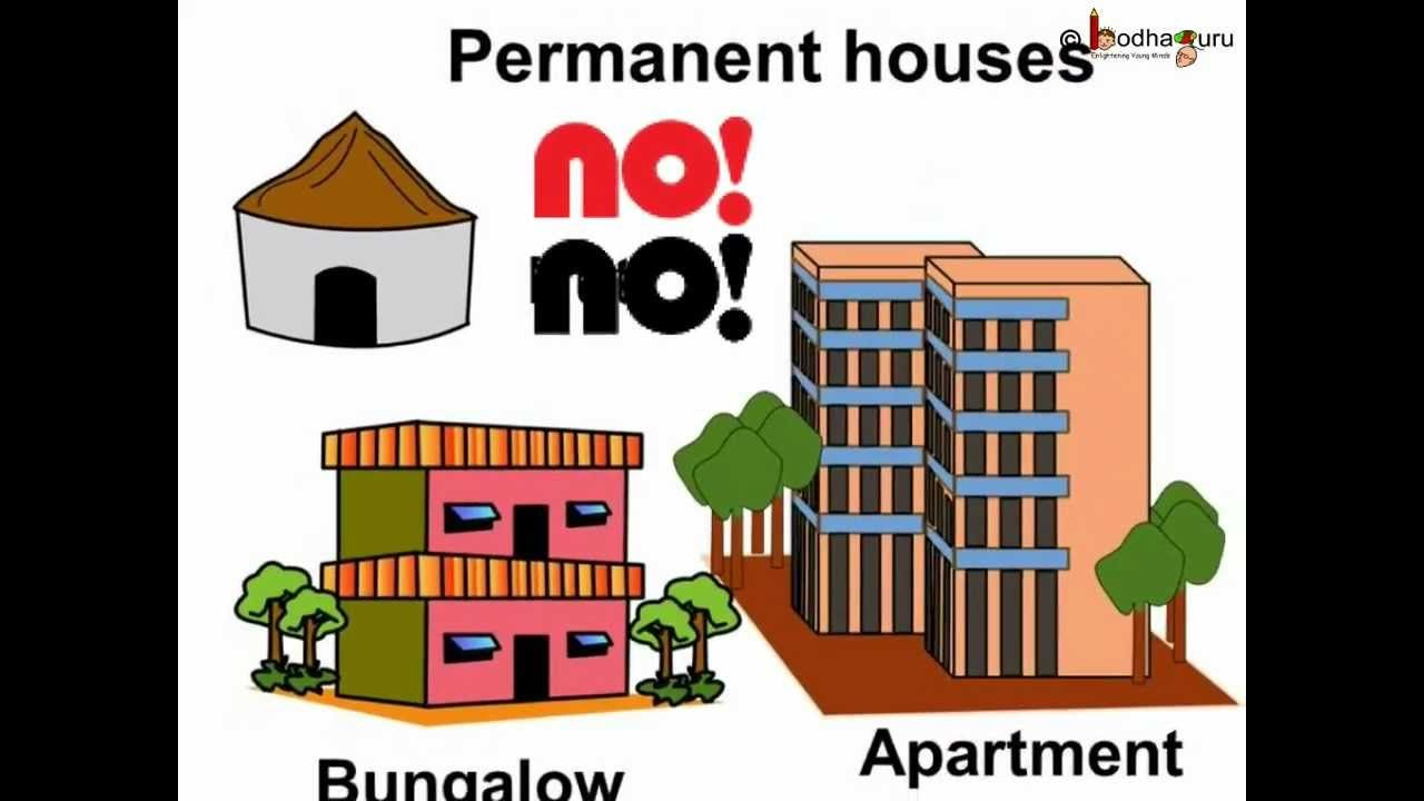 Why different types of houses are there this is an