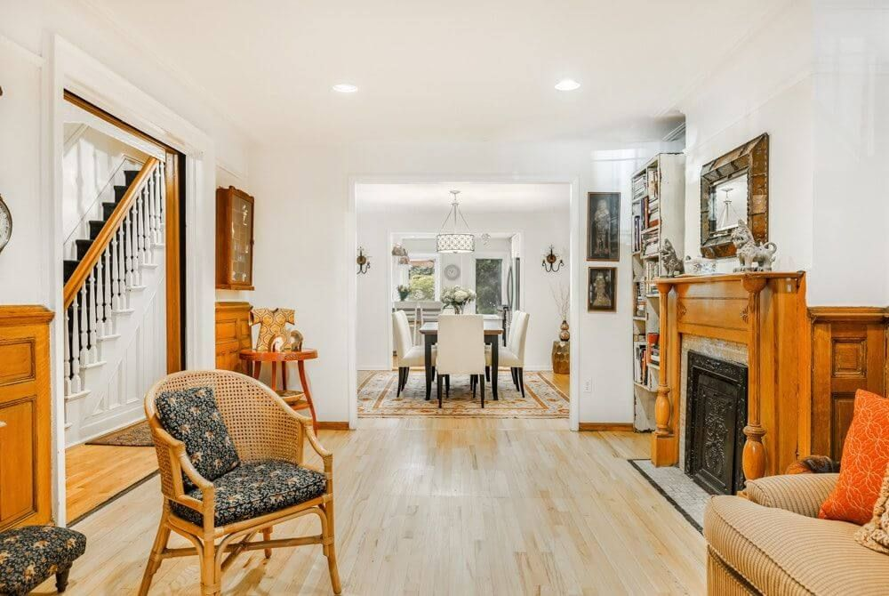Interior Design Ideas: Cats and Books Dictate Row House Redo ...