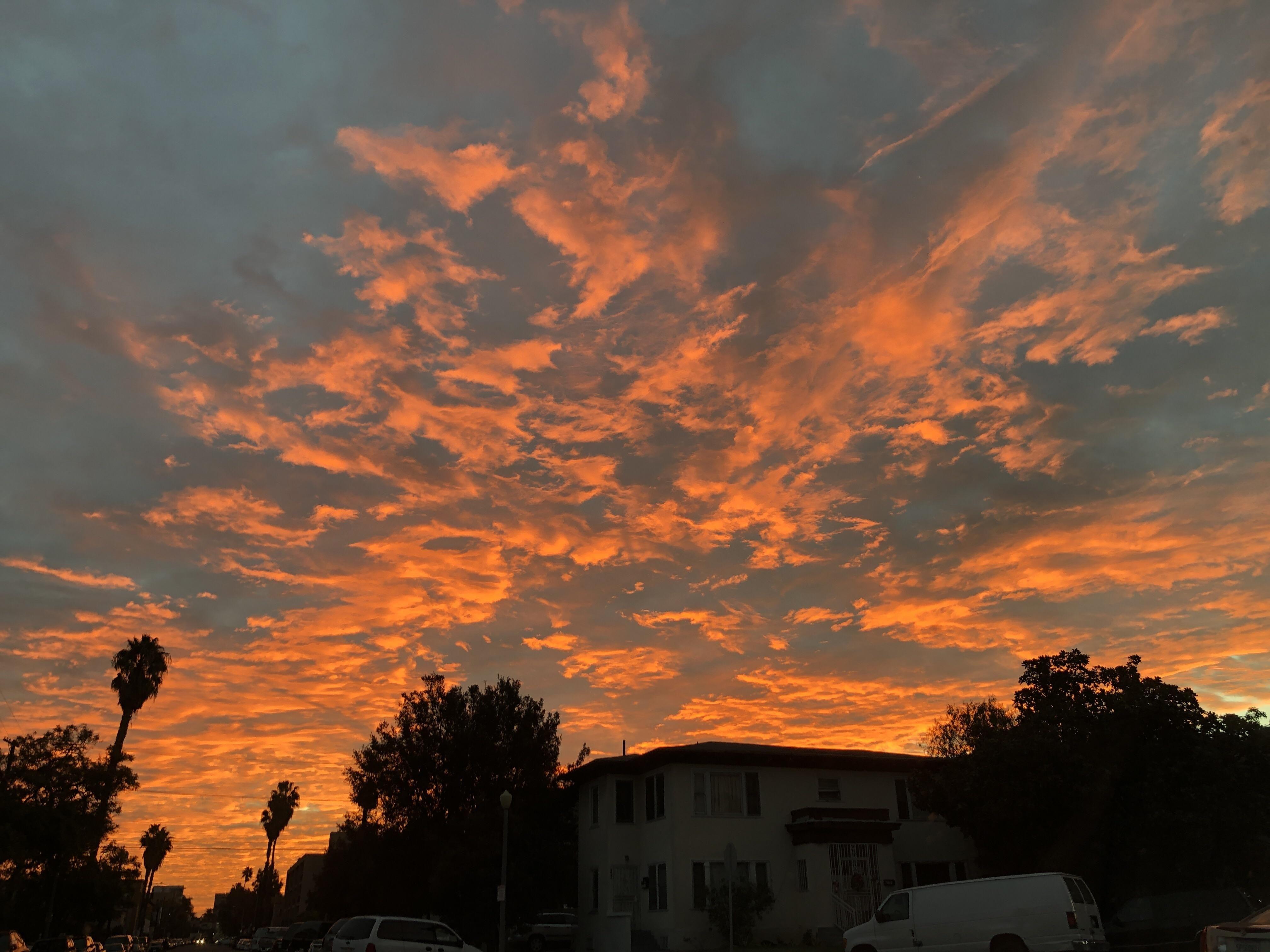 Los Angeles Sunrise Nofilter Sky Photography Landscape Photography Pretty Sky