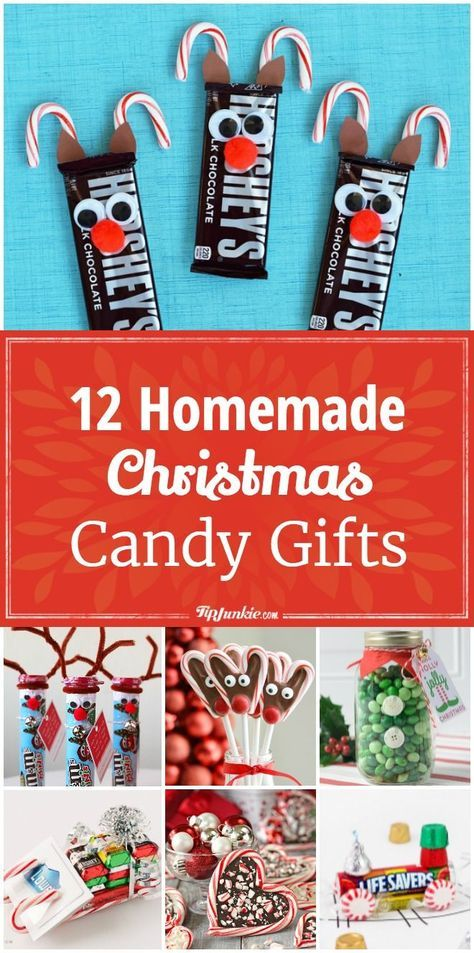 12 Homemade Christmas Candy Gifts [Easy]